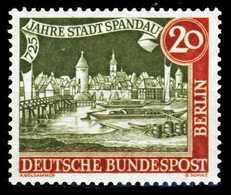 BERLIN 1957 Nr 159y Postfrisch S9797E2 - Nuevos
