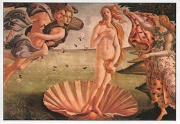 Botticelli La Naissance De Vénus (2 Scans) - Pintura & Cuadros