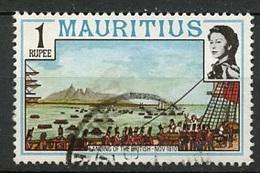 Maurice - Mauritius 1978 Y&T N°460 - Michel N°449 (o) - 1r Arrivée Des Anglais - Maurice (1968-...)