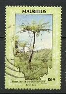 Maurice - Mauritius 1989 Y&T N°709 - Michel N°680 (o) - 4r Fougère Arborescente - Maurice (1968-...)