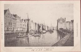 Anvers 1866 Le Canal St. Saint Pierre Sint Pietersvliet Antwerpen Vliet Ruien Rui (In Zeer Goede Staat) 1903 Hermans 66 - Antwerpen