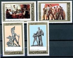 Albanien MiNr. 1630-33 Postfrisch MNH Kunst (NA562 - Albanien