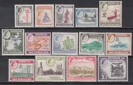 1959-62  Yvert Nº 20 / 32 MNH - Rodesia & Nyasaland (1954-1963)
