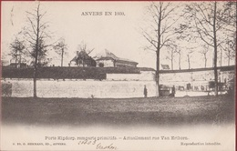 Spaanse Omwalling Anvers 1860 Antwerpen Porte Kipdorp Kipdorppoort Van Ertbornstraat (zeer Goede Staat) - Antwerpen