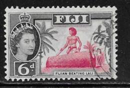 Fiji Scott # 168 Used Beating Drum, 1961 - Fiji (...-1970)