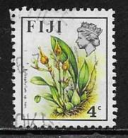 Fiji Scott # 308 Used Flowers, 1972 - Fiji (...-1970)