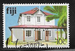 Fiji Scott # 414b Used Visitors Bureau, 1991 - Fiji (...-1970)