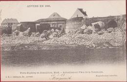 Spaanse Omwalling Anvers 1866 Antwerpen Porte Kipdorp Kipdorppoort Afbraak Demolition (zeer Goede Staat) 1903 - Antwerpen