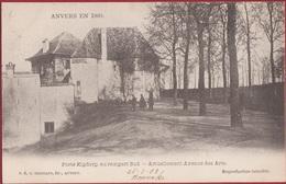 Spaanse Omwalling Anvers 1860 Antwerpen Porte Kipdorp Kipdorppoort Au Rempart Sud (zeer Goede Staat) 1903 - Antwerpen