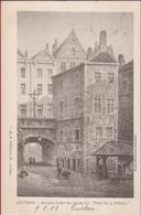 """Anvers Ancien Fossé Du Bourg Dit """"Pont De La Prison"""" Burchtgracht Steen Antwerpen (zeer Goede Staat) 1903 - Antwerpen"""