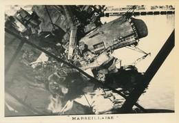 Snapshot Croiseur Marseillaise Toulon Guerre WWII Sabordage Marine Mer War - War, Military