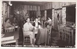 Mt. Lemmon Arizona, Catalina Dining Room Mt. Lemmon Inn, C1950s Vintage Real Photo Postcard - United States