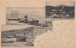 Mines Near Lowell Arizona, Calumet & Pittsburg Mine, Lake Superior & Pittsburg Mine, Lowell Mine C1900s Vintage Postcard - United States