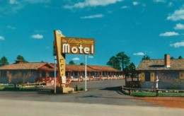 Flagstaff Arizona, The Arizonian Motor-Lodge C1950s/60s Vintage Postcard - United States