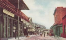 Nogales Arizona, Motley Avenue Street Scene C1900s Vintage Postcard - United States