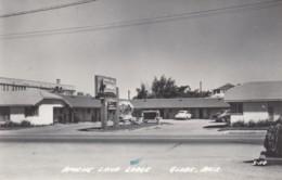 Globe Arizona, Apache Land Lodge, Motel Auto C1950s Vintage Real Photo Postcard - United States