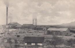Red Rock Arizona, Sasco Smelter, Mining Buildings, Railroad Cancel Postmark C1900s Vintage Postcard - United States