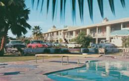 Phoenix Arizona, Desert Inn Motel Lodging, Autos C1950s Vintage Postcard - Phoenix