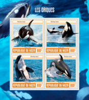 Niger 2019 Fauna    Orcas   Whales  S201907 - Niger (1960-...)