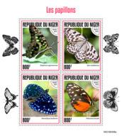 Niger 2019 Fauna  Butterflies   S201907 - Niger (1960-...)