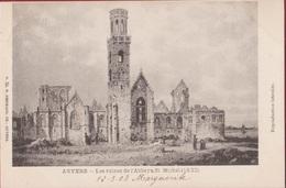 Antwerpen Anvers Les Ruines De L'Abbaye St Michel Sint-Michielsabdij 1830 (zeer Goede Staat) - Antwerpen