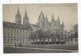 CPA 14 - Caen - Église Saint Étienne - L'Abside - Caen