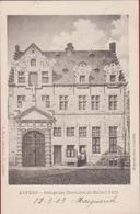 """Antwerpen Anvers Refuge Des Chevaliers De Malte """"Reuzenhuis"""" (zeer Goede Staat) G. Hermans Nr. 50 - Antwerpen"""
