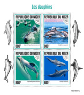 Niger 2019 Fauna  Dolphins  S201907 - Niger (1960-...)