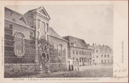 Antwerpen Anvers L' Hospice Van Couwenberghe Et Hessenhuys Falconrui Hessenhuis  (zeer Goede Staat) Tax Taxzegel - Antwerpen