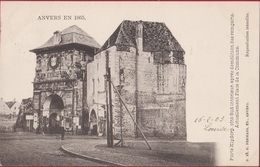 Spaanse Omwalling Anvers 1865 Antwerpen Porte Kipdorp Kipdorppoort Na Afbraak Van De Stadswallen (zeer Goede Staat) - Antwerpen