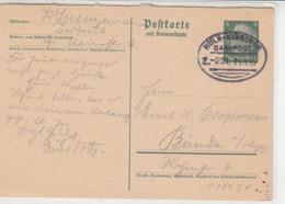 BAHNPOST Ganzsache F Köln-Hannover Z.221 25.11.35 - Briefe U. Dokumente