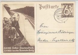 P 263 Aus PFORZHEIM 30.1.37 Nach Nieder-Ingelheim - Briefe U. Dokumente