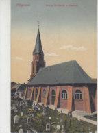 Helgoland - Kirche, Kirchturm Und Friedhof - 1915 Feldpost - Helgoland