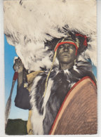Luo Warrior - Handkoloriert - 1960 - Uganda