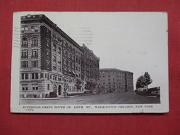 Riverside Drive South Of 136 Th Street Washington Heights NY     Ref    3560 - Manhattan
