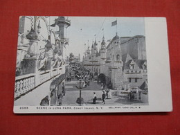 Scene In Luna Park  Coney Island  Glitter Added      New York > New York City     Ref    3560 - Manhattan