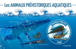 Togo  2019 Fauna    Prehistoric Water Animals   S201907 - Togo (1960-...)