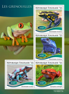 Togo  2019 Fauna Frogs   S201907 - Togo (1960-...)