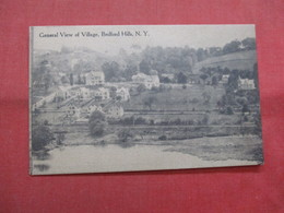 General View Of Village  Bedford Hills   New York >  Ref    3560 - NY - New York