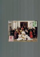 Luxembourg Photo Mariage De La Princesse Magretha De Luxembourg Avec Prince Liechtenstein - Famille Grand-Ducale