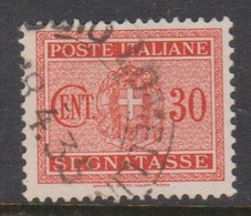 Italy PD 38 1934 King Victor Emanuel Postage Due,30c Orange,used - Postage Due