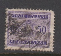 Italy PD 40 1934 Postage Due,50c Violet,used - Postage Due