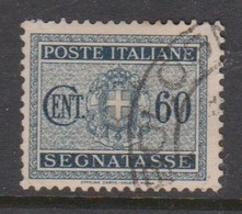 Italy PD 41 1934 King Victor Emanuel Postage Due,60c Black,used - Postage Due