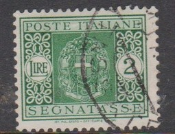 Italy PD 43 1934 King Victor Emanuel Postage Due,lire 2 Green,used - Postage Due