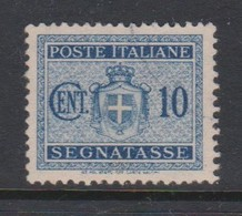 Italy PD 86 1945 Lieutenance  Postage Due,10c Blue,used - Postage Due