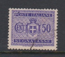 Italy PD 86 1945 Lieutenance  Postage Due,50c Violet,used - Postage Due