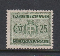 Italy PD 87 1945 Lieutenance  Postage Due,25c Green,used - Postage Due