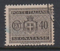 Italy PD 89 1945 Lieutenance  Postage Due,40c Black Brown,used - Postage Due