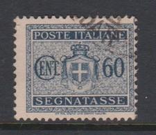 Italy PD 91 1945 Lieutenance  Postage Due,60c Black,used - Postage Due