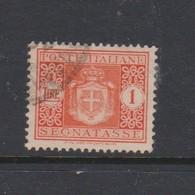 Italy PD 92 1945 Lieutenance  Postage Due,lire 1 Orange,used - Postage Due